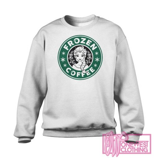 Disney Frozen Starbucks Logo Sweatshirt