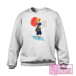 Disney Kingdom Hearts Sora Sun Sweatshirt