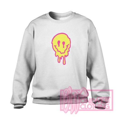 Drippy Smiley Face Sweatshirt