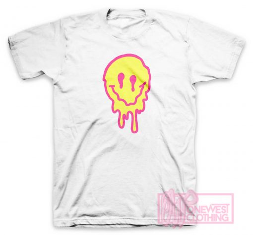 Drippy Smiley Face T Shirt