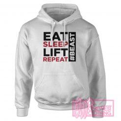 Eat Sleep Lift Repeat Hoodie