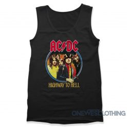 ACDC Highway To Hell Tank Top