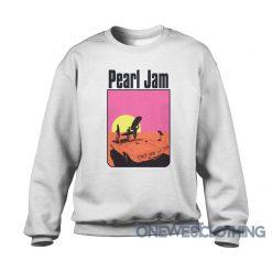 Ames Bros Pearl Jam 1998 San Diego Sweatshirt