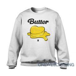 BTS Butter Album Sweatshirt