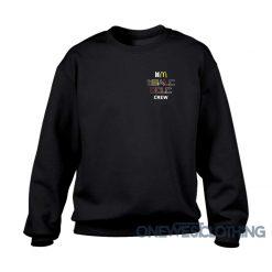 BTS X McDonald's Crew Sweatshirt
