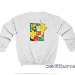 BTS X McDonald's Melt Butter Sweatshirt