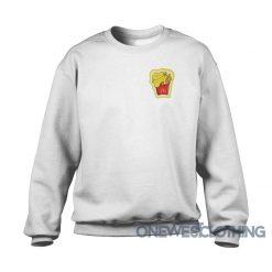 BTS X McDonald's Melting Butter Sweatshirt