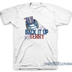 Back It Up Terry Fireworks T-Shirt
