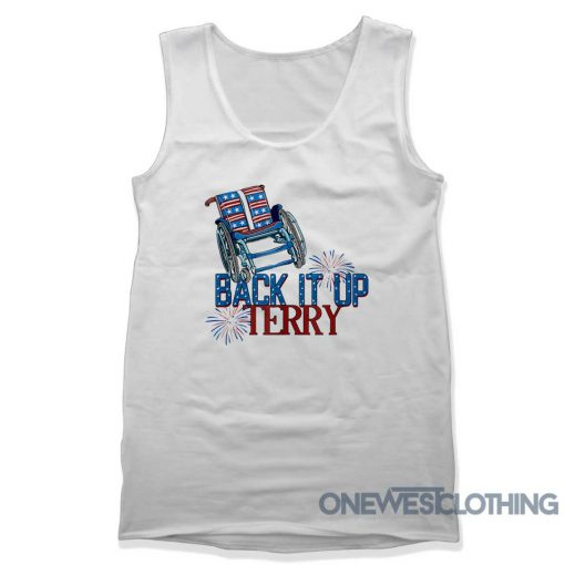 Back It Up Terry Fireworks Tank Top