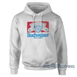 Budweiser King Of Beers Retro Hoodie