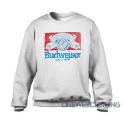 Budweiser King Of Beers Retro Sweatshirt