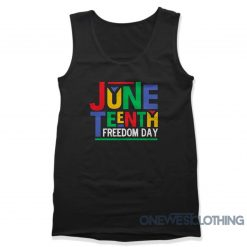 Juneteenth Fredom Day Tank Top