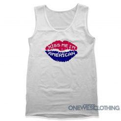 Kiss Me I'm American Tank Top