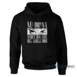 Madonna Who's That Girl Tour 1987 Hoodie