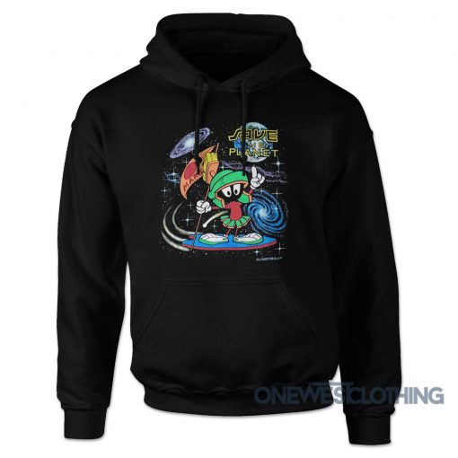 Marvin And The Martian Save Planet Hoodie