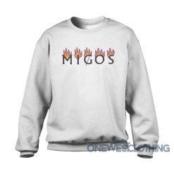 Migos White Flame Sweatshirt