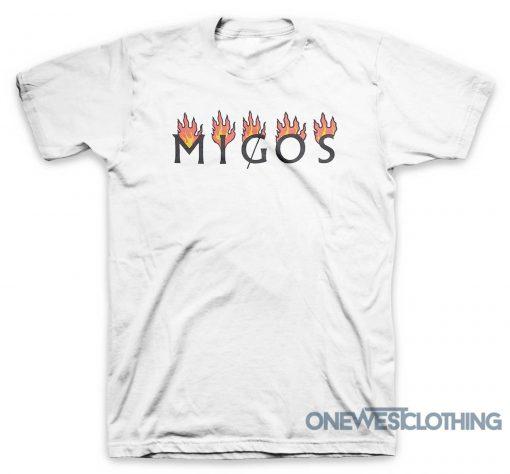 Migos White Flame T-Shirt