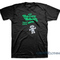 Old Danny Brown Tour 2014 T-Shirt