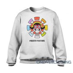 One Piece Stampede Pirates Festival Sweatshirt