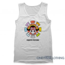 One Piece Stampede Pirates Festival Tank Top
