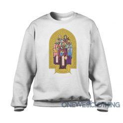 Pearl Jam Trieste Italy 2014 Sweatshirt