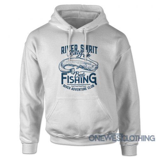 River Spirit Best Fishing Hoodie