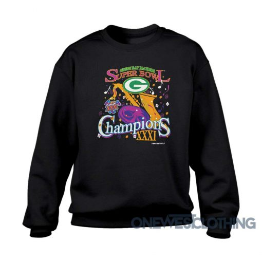 Vintage Green Bay Packers Champions Sweatshirt
