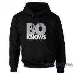 Bo Knows Bold Block Hoodie