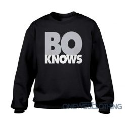 Bo Knows Bold Block Sweatshirt