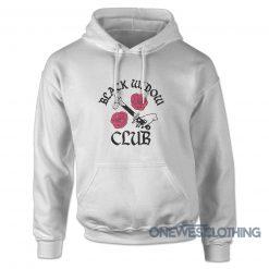 Crime Black Widow Club Hoodie