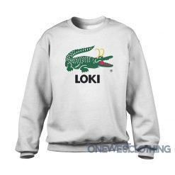 Lacoste Loki Alligator Sweatshirt