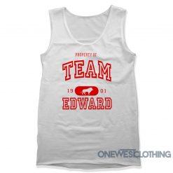 Property Of Team Edward Tank Top