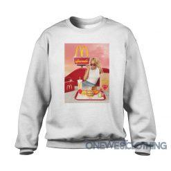 Saweetie Stars McDonald's Sweatshirt