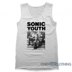 Sonic Youth Madonna Tank Top