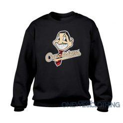 Caucasians Mascot Parody Sweatshirt