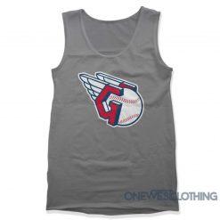 Cleveland Guardians Logo Tank Top