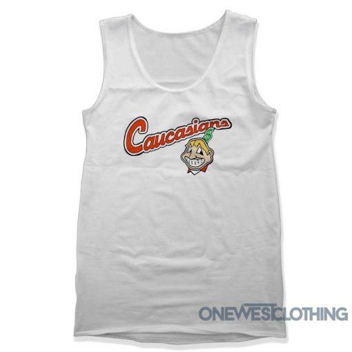 Cleveland Indians Caucasians Tank Top
