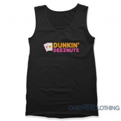 Dunkin Deez Nuts Card Tank Top