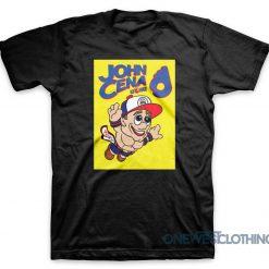 John Cena Super Mario T-Shirt