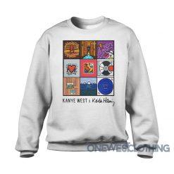 Kanye West X Keith Haring Sweatshirt