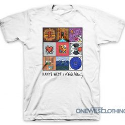 Kanye West X Keith Haring T-Shirt