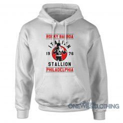 Ricky Balboa Italian Stallion Hoodie