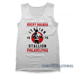 Ricky Balboa Italian Stallion Tank Top