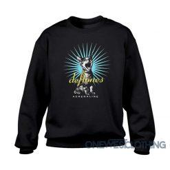 Deftones Adrenaline Cat Sweatshirt