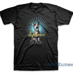 Deftones Adrenaline Cat T-Shirt