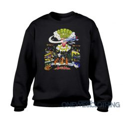 Green Day Vintage Dookie Tour Sweatshirt