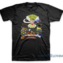 Green Day Vintage Dookie Tour T-Shirt