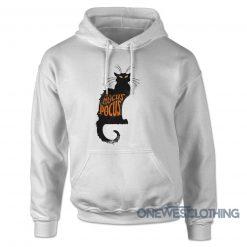 Hocus Pocus Black Cat Hoodie