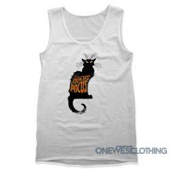 Hocus Pocus Black Cat Tank Top