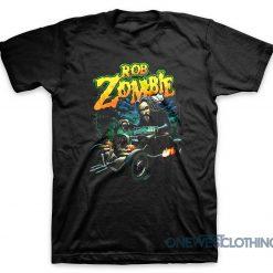 Rob Zombie Hotrod Hell T-Shirt